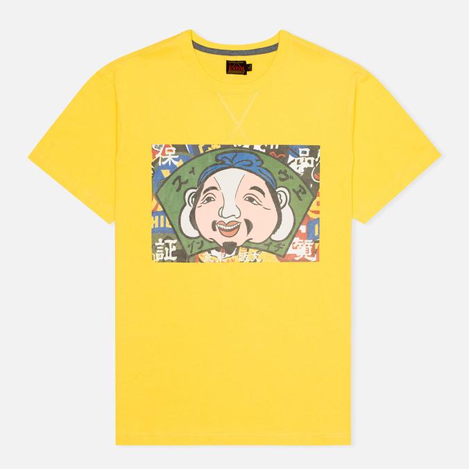 Мужская футболка Evisu Godhead Print Mustard