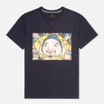 Мужская футболка Evisu Godhead Print Navy фото- 0