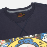 Evisu Godhead Print Men's T-Shirt Navy photo- 1