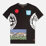 Мужская футболка Evisu Godhead Side Print Black фото- 0