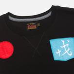 Мужская футболка Evisu Godhead Side Print Black фото- 1