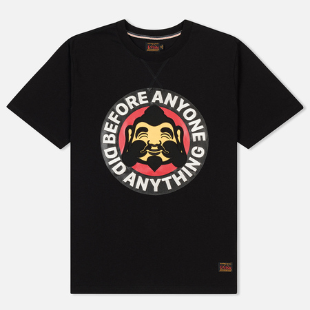 Мужская футболка Evisu Heritage Godhead At Front Black