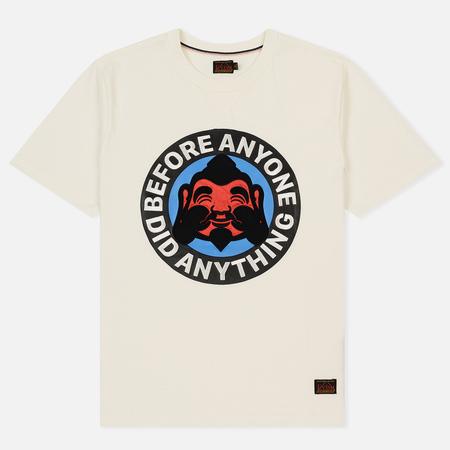 Мужская футболка Evisu Heritage Godhead At Front Off White