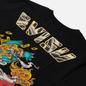 Мужская футболка Evisu Heritage Kirin Lion Logo Digital Printed Black фото - 2
