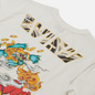 Мужская футболка Evisu Heritage Kirin Lion Logo Digital Printed Off White фото - 2