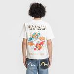 Мужская футболка Evisu Heritage Kirin Lion Logo Digital Printed Off White фото- 3
