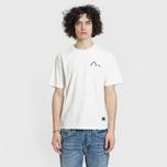 Мужская футболка Evisu Heritage Kirin Lion Logo Digital Printed Off White фото- 2