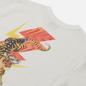 Мужская футболка Evisu Heritage Tiger Flash Graphic Printed Off White фото - 2