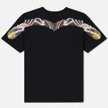 Мужская футболка Evisu Heritage Wave Tattoo Digital Printed Top Daicock Black фото- 1