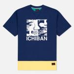Мужская футболка Evisu Ichiban Blue фото- 0