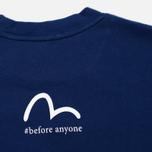 Мужская футболка Evisu Ichiban Blue фото- 3