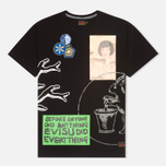 Мужская футболка Evisu Multi Everything Print Black фото- 0