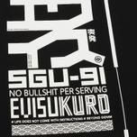Мужская футболка Evisu No Bullshirt Print Black фото- 5