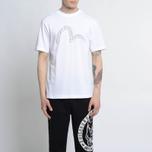 Мужская футболка Evisu No Bullshirt Print White фото- 6