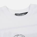 Мужская футболка Evisu No Bullshirt Print White фото- 1
