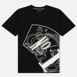 Мужская футболка Evisu Number One Print Black фото- 0