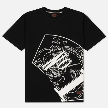Мужская футболка Evisu Number One Print Black