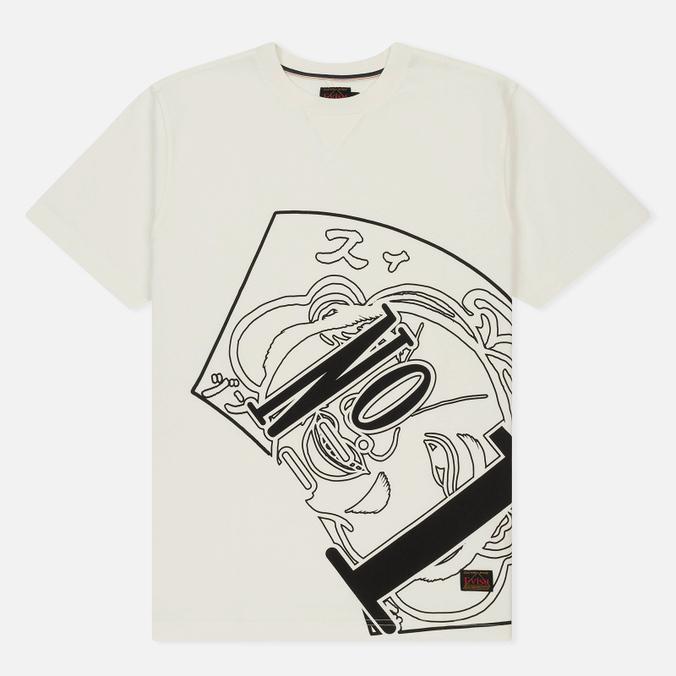 Мужская футболка Evisu Number One Print White