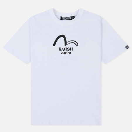 Мужская футболка Evisu Printed Five Hannya White