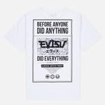 Мужская футболка Evisu Stamp Print Tee White фото- 3