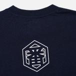 Мужская футболка Evisu Text Indigo фото- 3