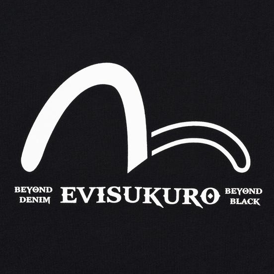 Мужская футболка Evisu Triangular Evisukuro & Hannya Black