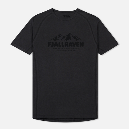 Мужская футболка Fjallraven Abisko Trail Dark Grey