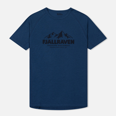 Мужская футболка Fjallraven Abisko Trail Uncle Blue