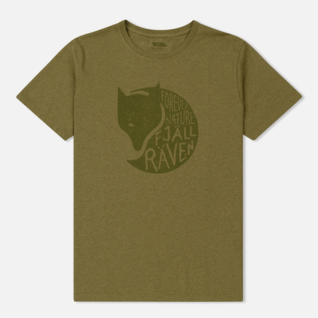 Мужская футболка Fjallraven Forever Nature Green
