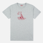 Мужская футболка Fjallraven Keep Trekking Grey фото- 0