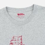 Мужская футболка Fjallraven Keep Trekking Grey фото- 1