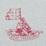 Мужская футболка Fjallraven Keep Trekking Grey фото- 2