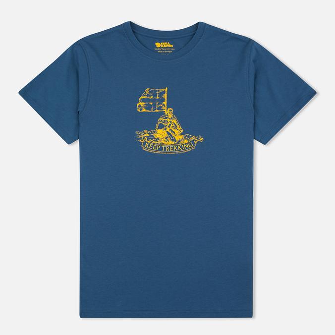 Мужская футболка Fjallraven Keep Trekking Navy