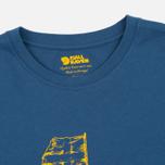 Мужская футболка Fjallraven Keep Trekking Navy фото- 1
