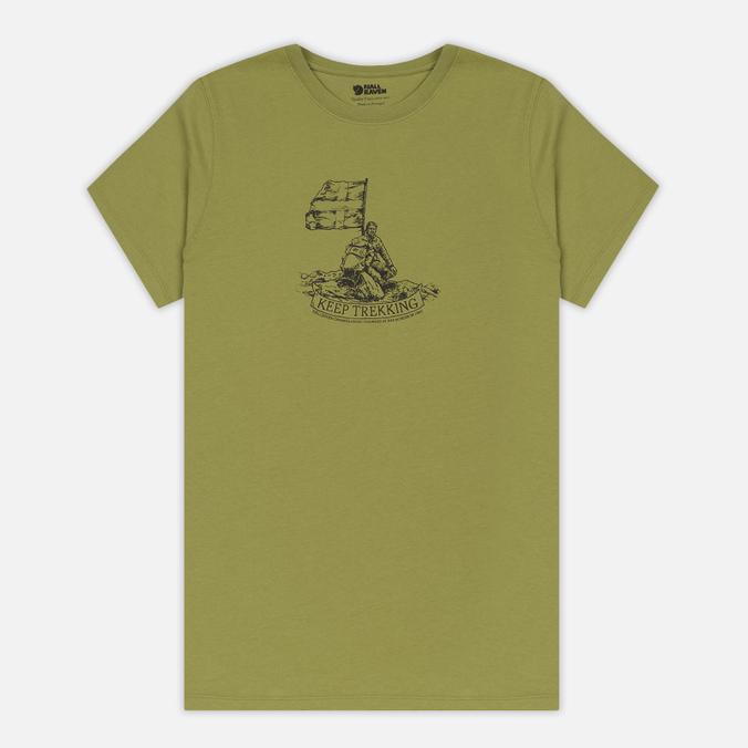 Мужская футболка Fjallraven Keep Trekking Willow