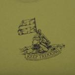 Мужская футболка Fjallraven Keep Trekking Willow фото- 2