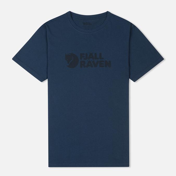 Мужская футболка Fjallraven Logo Blueberry