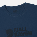 Мужская футболка Fjallraven Logo Blueberry фото- 1
