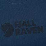 Мужская футболка Fjallraven Logo Blueberry фото- 2