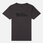 Мужская футболка Fjallraven Logo Dark Grey фото- 0