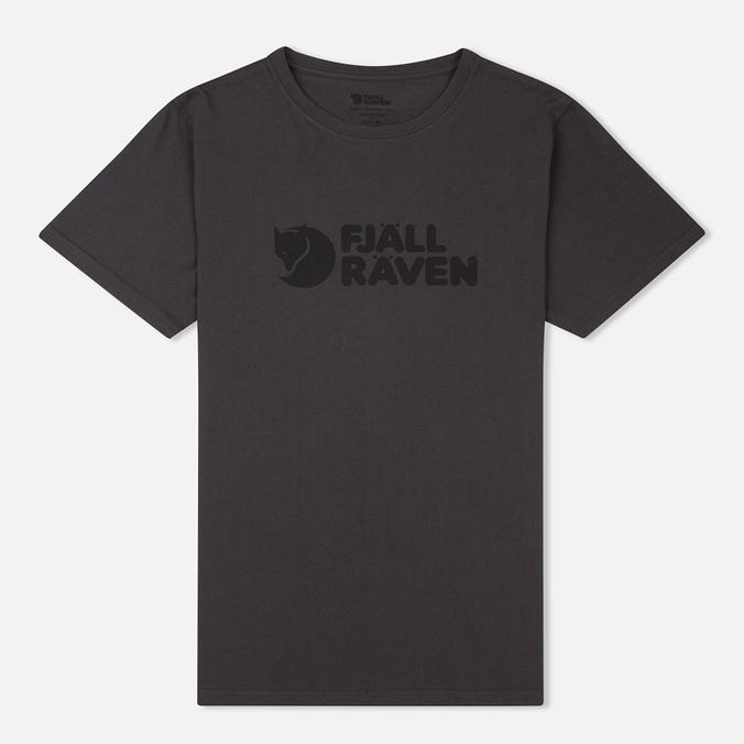 Мужская футболка Fjallraven Logo Dark Grey