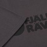 Мужская футболка Fjallraven Logo Dark Grey фото- 3