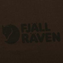 Мужская футболка Fjallraven Logo Dark Olive фото- 2
