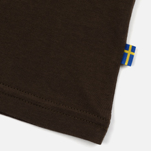 Мужская футболка Fjallraven Logo Dark Olive фото- 3