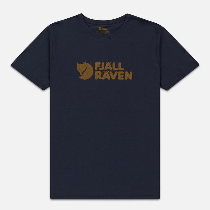 Мужская футболка Fjallraven Logo Navy