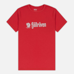 Мужская футболка Fjallraven Retro Red фото- 0