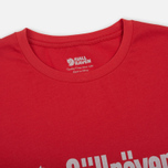 Мужская футболка Fjallraven Retro Red фото- 1