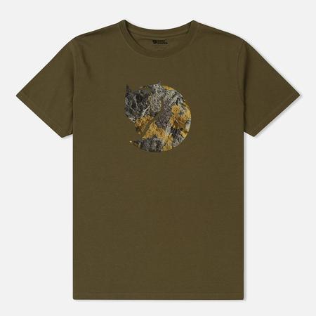 Мужская футболка Fjallraven Rock Logo Tarmac