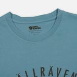 Мужская футболка Fjallraven Trekking Equipment Creek Blue фото- 1