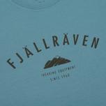 Мужская футболка Fjallraven Trekking Equipment Creek Blue фото- 2